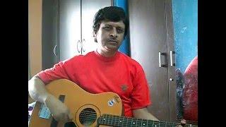 O Mere Dil Ke Chain (Guitar Chords & Vocal) by Sablu