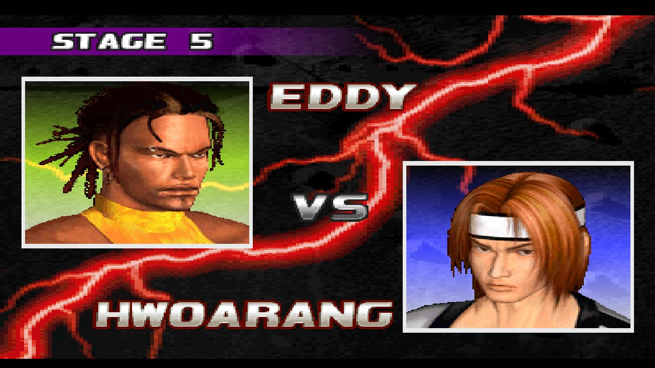 Tekken 3 Eddy Vs Hwoarang Youtube