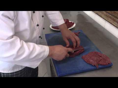 Карпаччо из говядины часть 1