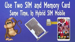 Life Hacks ???????? - Dual SIM and Memory Card Working Simultaneously In Hybrid SIM Mobile - Part3