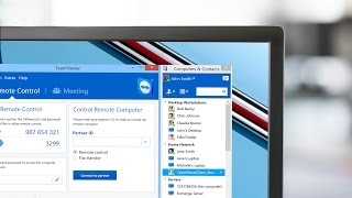 TeamViewer 10 - Remote Support and Online Meeting Software