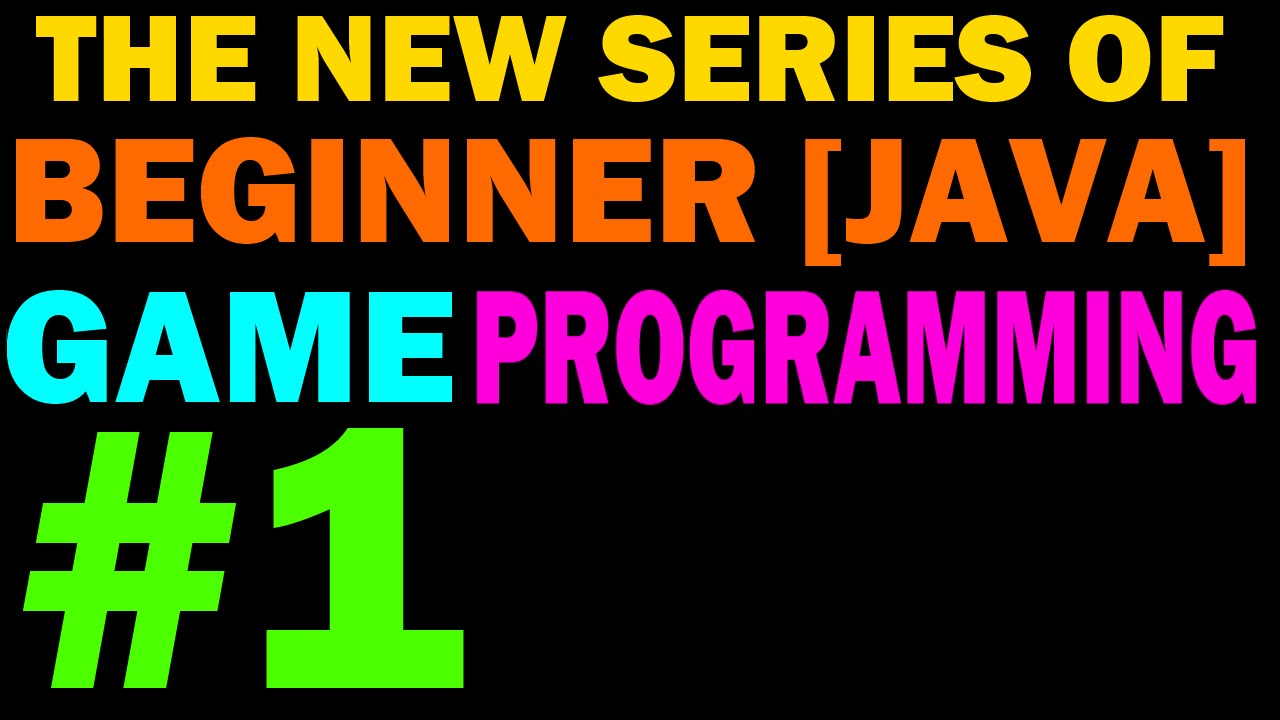 NEW Beginner 2D Game Programming