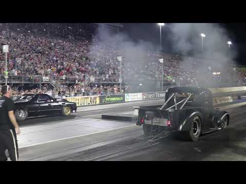 Download Youtube: Street Outlaws: THE ELCO vs. The OUTCAST (Wicked Diesel Truck) & The GODFATHER