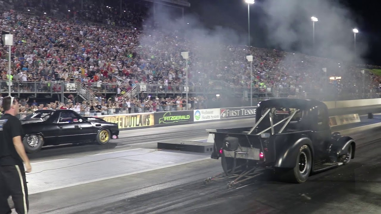 Street Outlaws: THE ELCO vs. The OUTCAST (Wicked Diesel Truck) & The ...