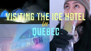 Visiting the Ice Hotel in Quebec - Travel with Arianne - Travel Canada episode #18