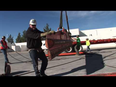 Global Power Supply 2 MW Generator Install at Vegas Datacenter
