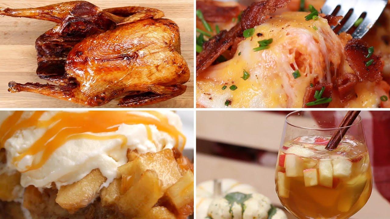 7 Easy Thanksgiving Recipes Youtube