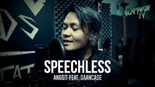 Naomi Scott - Speechless ( EDM Rock Cover by ANGGIT SLX) Feat. SAANCASE