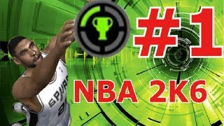 NBA 2K6 The Easiest 1,000 GamerScore Guide ! [HD]