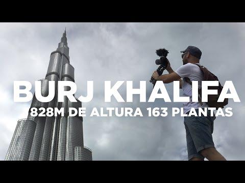 El rascacielos más alto del mundo   Burj Khalifa Dubai