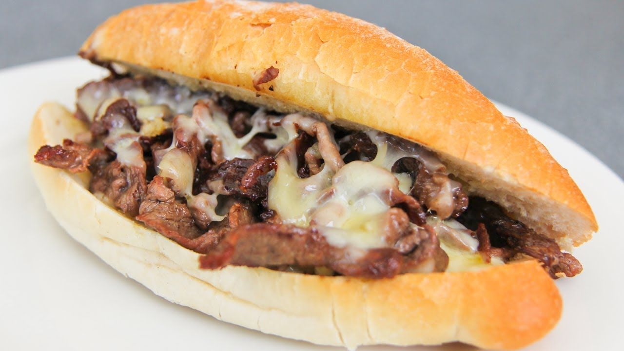 Philly Cheese Steak - Video Recipe - YouTube