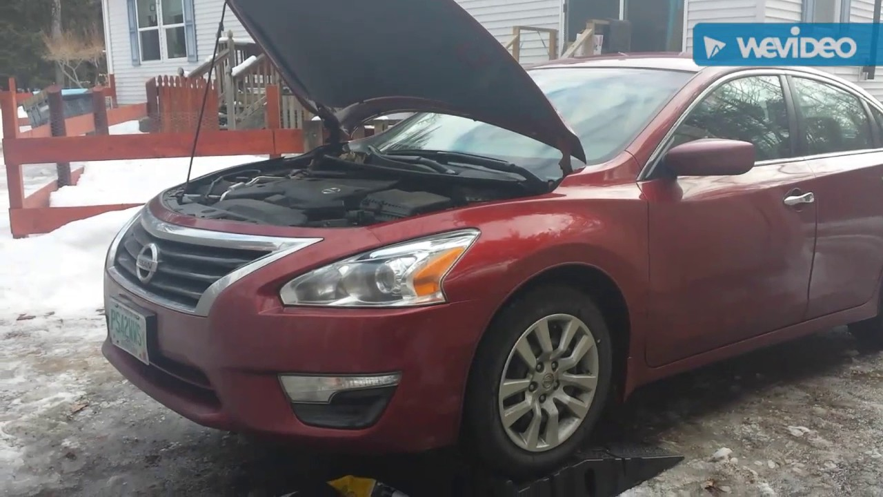 hight resolution of nissan altima cvt trans fluid change