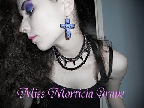 DIY Cross Earrings ( Heavy metal / gothic )