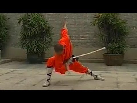 Shaolin kung fu breeze sword