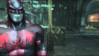 Batman: Arkham City - Red Lantern Batman Mod