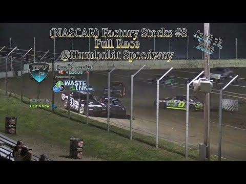 (NASCAR) Factory Stock #1, Full Race, Humboldt Speedway, 04/12/19