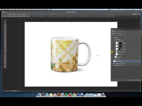 Layered PSD Mug Mockup Tutorial for Photoshop