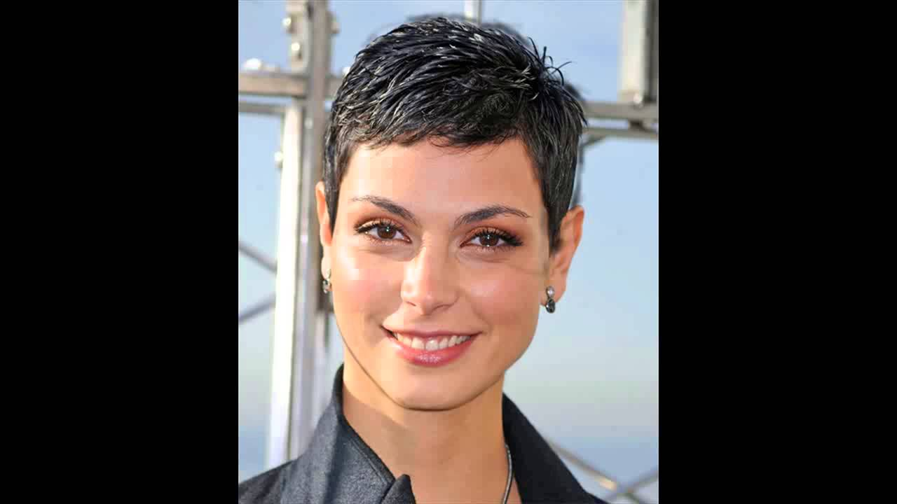 morena baccarin hairstyles more short pixies - youtube