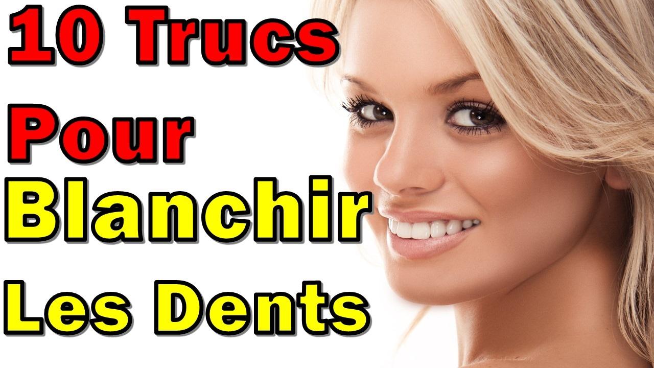 comment avoir les dents blanches 10 trucs pour blanchir les dents youtube. Black Bedroom Furniture Sets. Home Design Ideas