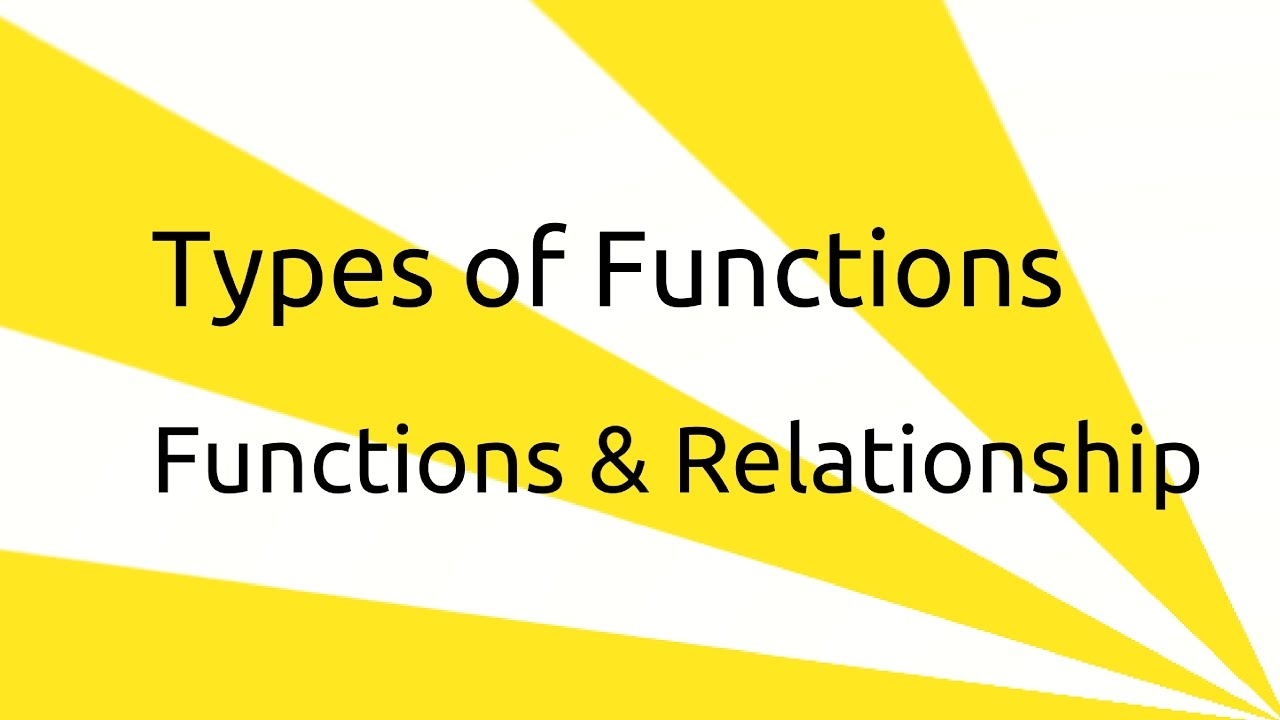 types of functions set function relationship venn diagram ca cpt cs cma class 11 [ 1280 x 720 Pixel ]