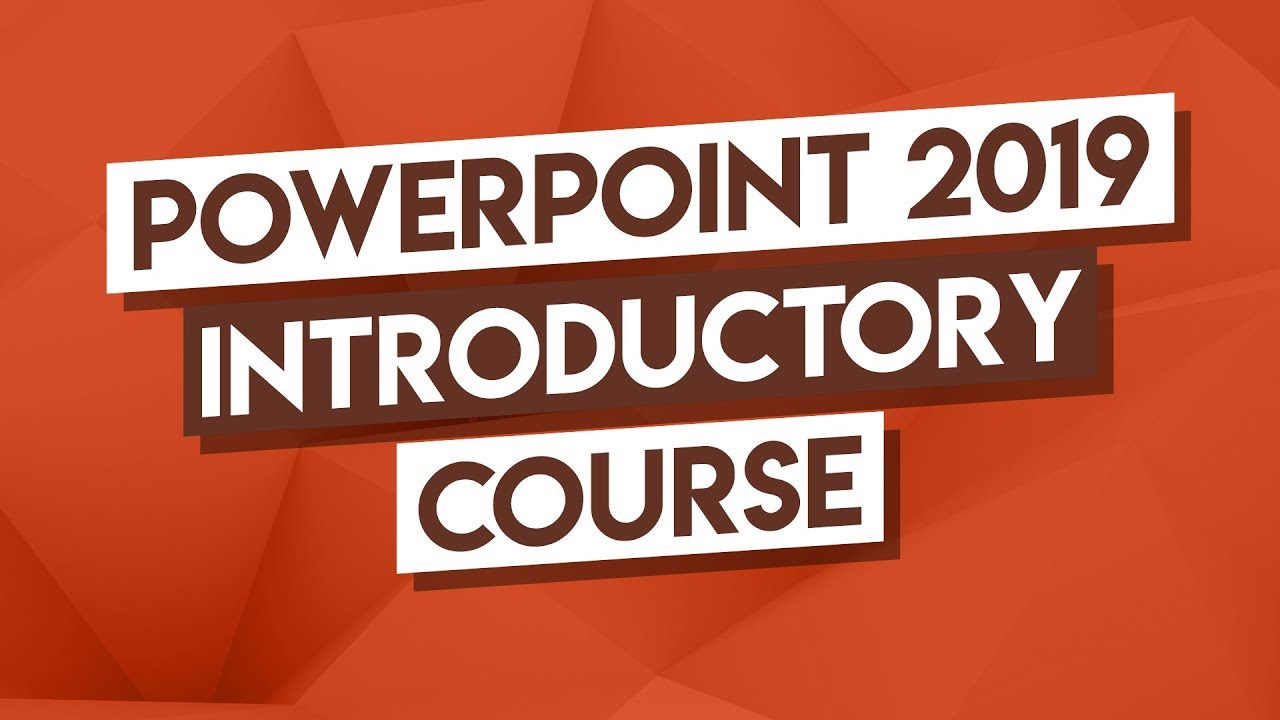 PowerPoint Tutorial: 3-Hour PowerPoint Intro Course - How To Use PowerPoint 2019