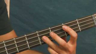 beginner bass guitar lesson hit me with your best shot pat benatar