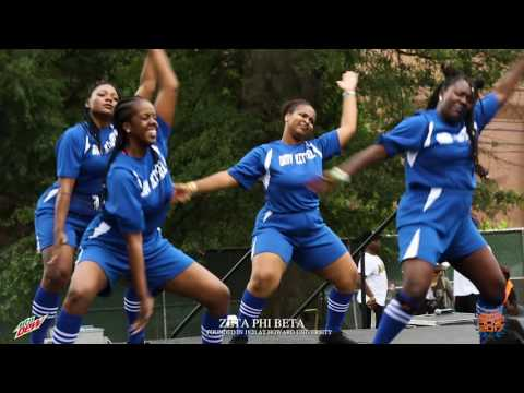 Zeta Phi Beta WINS 2017 Atlanta Greek Picnic stroll off (Official Video) #AGP2017 #DewXAGP