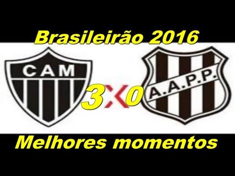 Atlético MG 3 x 0 Ponte Preta   Melhores Momentos   Brasileirão 2016