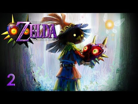 THE MASKED BOY - Let's Play - The Legend of Zelda: Majora's Mask - 2 - Walkthrough Playthrough