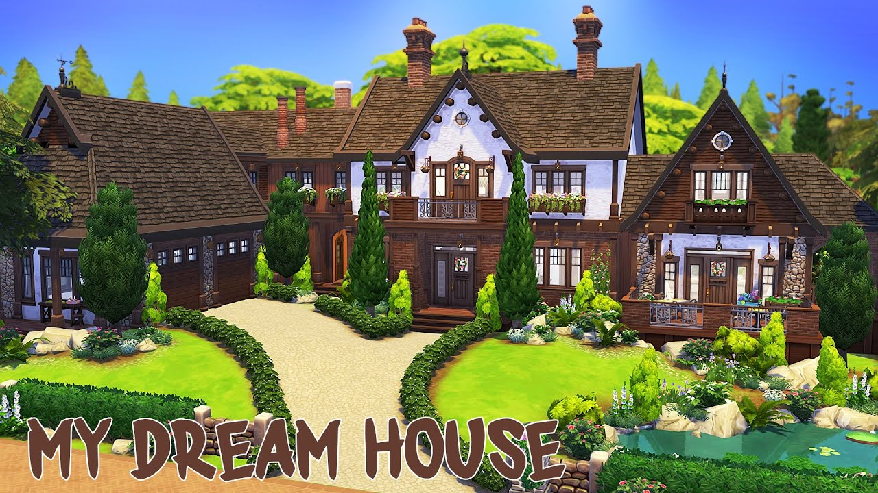 My Actual Dream House 30k Subscriber Special The Sims 4 Speed Build Youtube
