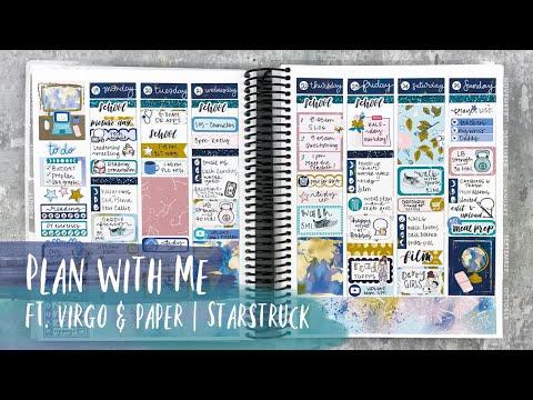 PLAN WITH ME | ft. virgo & paper | erin condren vertical