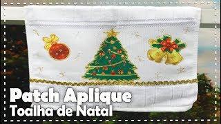 TOALHA DE LAVABO DE NATAL