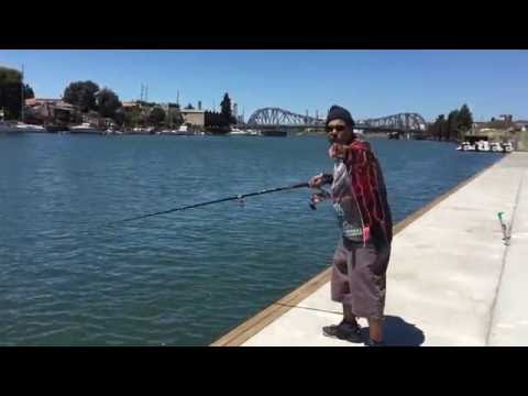 -Fishing in the Town of Oakland California-