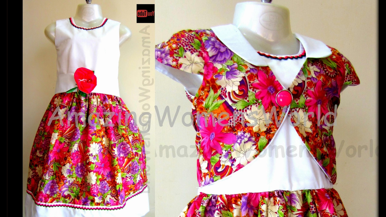 HOW TO CUT SEW BABY FROCK WITH BOLERO JACKET