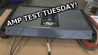 Amp Test Tuesday - Rockford Fosgate T800.4 - Rated 800 watts - SMD AD-1 Amp Dyno