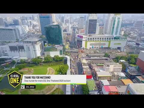 VOD: TP vs QC - ESL One Thailand 2020 - Game 3