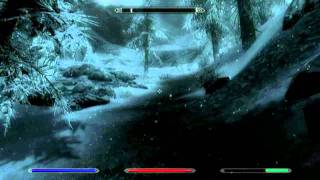 zR3D Skyrim Let's Play Ep. 6- Climbing to Bleak Falls Temple