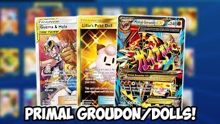 Busted Primal Groudon/Dolls Deck! Is Primal Groudon Good Again?! Expanded Deck PTCGO