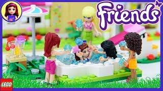 Water Fight! LEGO Friends Olivia
