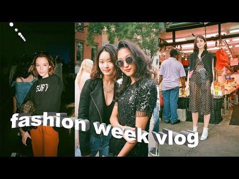 Fashion Week, Teen Vogue Parties, and LOTS of Homework | Parsons Week 2