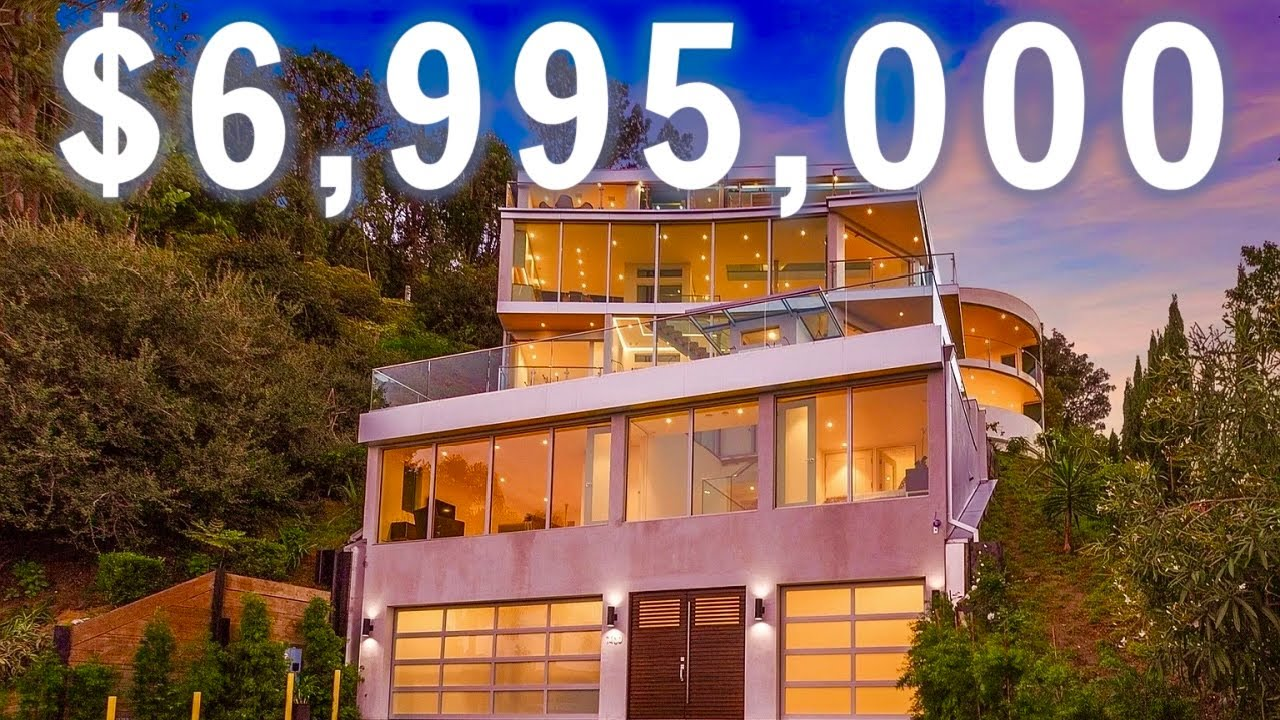 INSIDE A 7-STORY ULTRA MODERN MANSION WITH 2 ELEVATORS | Luxury Mansion Tour