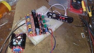 Thử đấu combo 3 mạch USB BLUETOOTH + CLASS D 2.1 + BOOT áp với nhau xem như thế nào!