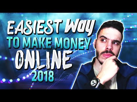 EASIEST Way To Make Money Online In 2018 As A BEGINNER with NO EXPERIENCE