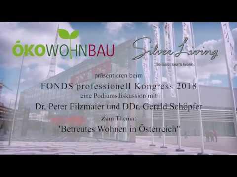 """ÖKO-Wohnbau & Silver Living:  Podiumsdiskussion """"Betreutes Wohnen in Österreich"""""""