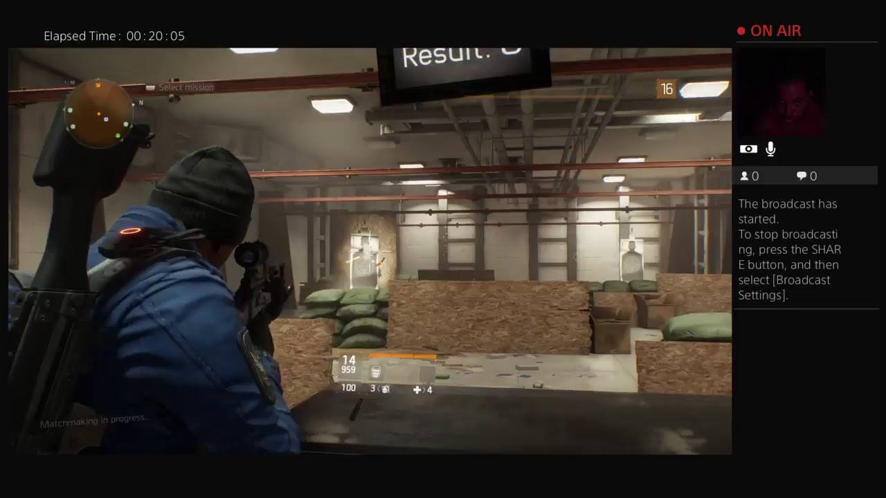 The division stop matchmaking