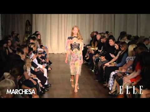 Marchesa SS15 | London Fashion Week