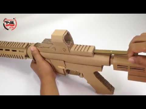 How To Make M4 A1 Cardboard Gun Shoots