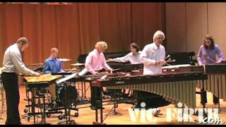 "Ney Rosauro performs his ""Concerto for Marimba & Percussion Ensemble"" - Movement 3"