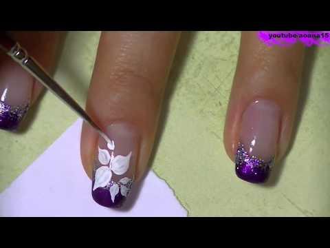 На ногтях рисунки рисовать