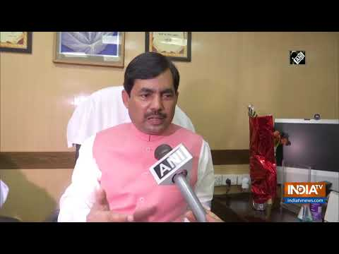 Shahnawaz Hussain takes charge as Bihar Industries Minister